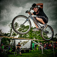 3sixty bicycle stunt team @ Duffield Carnival 2012